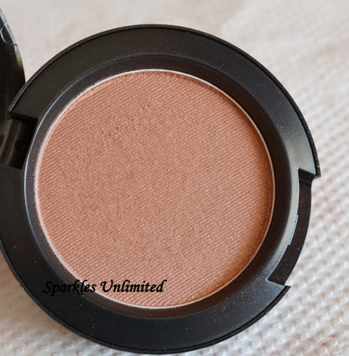MAC Margin Blush: Review, Swatches & FOTD - Sparkles Unlimited