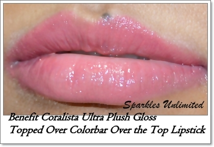 Benefit Ultra Plush Lip Gloss in Coralista