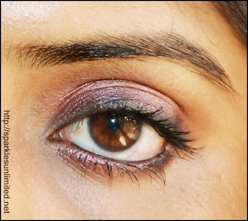 Shimmery Smoked Out Plum-Purple