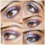 Line the upper lashline with a black eye liner & finish off with mascara.