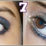 Gold Blue Eye Makeup, Brown Eye Makeup look