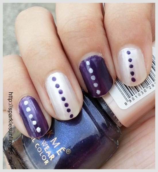Well ... - Sparkles Unlimited Chic And Super Easy Nail Art In Purple