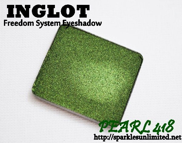 Inglot Freedom System Eyeshadow Pearl 418, Inglot Freedom System Eyeshadow Pearl 418 Review,Inglot Freedom System Eyeshadow Pearl 418 Swatches, Inglot Freedom System Eyeshadow ,Inglot Freedom System Eyeshadow Review,Inglot Freedom System Eyeshadow Swatches, Inglot Eyeshadow swatches, Inglot Pearl Eyeshadow, Inglot, Inglot Cosmetics, Inglot Cosmetics India, Eye Makeup,