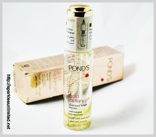 Pond's Gold Radiance Precious Youth Serum,Pond's Gold Radiance Precious Youth Serum Review, Pond's India