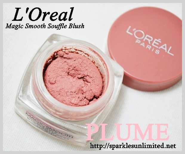 L'Oreal Paris Magic Smooth Souffle Blush 846 PLUME, L'Oreal Paris Magic Smooth Souffle Blush 846 PLUME Review,L'Oreal Paris Magic Smooth Souffle Blush 846 PLUME Swatches,L'Oreal Paris Magic Smooth Souffle Blush ,L'Oreal Paris Magic Smooth Souffle Blush Review,L'Oreal Paris Magic Smooth Souffle Blush Swatches,L'Oreal Paris ,L'Oreal Paris India, L'Oreal