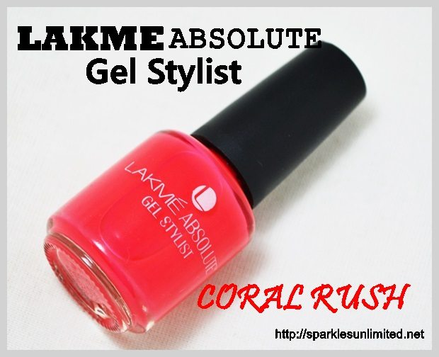 Lakme Absolute Gel Stylist CORAL RUSH,Lakme Absolute Gel Stylist CORAL RUSH Review,Lakme Absolute Gel Stylist CORAL RUSH Swatches,Lakme Absolute Gel Stylist ,Lakme Absolute Gel Stylist Review,Lakme Absolute Gel Stylist Swatches, Lakme Absolute Gel Stylist Nail Enamel, Lakme Absolute Gel Stylist Nail Enamel Reviews,Lakme Absolute Gel Stylist Nail Enamel swatches, Lakme Absolute, Lakme India