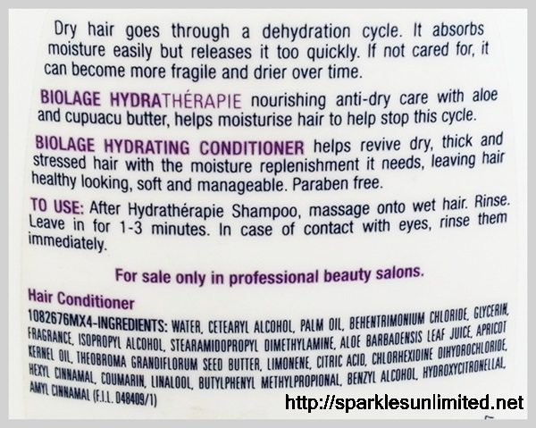 Matrix Biolage Ultra Hydrating Conditioner,Matrix Biolage Ultra Hydrating Conditioner Review, Matrix Biolage