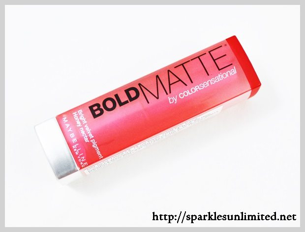 Maybelline Colorsensational Bold Matte Lipstick MAT 1,Maybelline Colorsensational Bold Matte Lipstick MAT 1 Review,Maybelline Colorsensational Bold Matte Lipst Swatches,Maybelline Colorsensational Bold Matte Lipstict Review,Maybelline Colorsensational Bold Matte Lipstick  Swatches,Maybelline Colorsensational Bold Matte Lipstick , Maybelline Cosmetics, Maybelline India