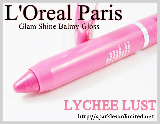 L'Oreal Paris Glam Shine Balmy Gloss 911 LYCHEE LUST ,L'Oreal Paris Glam Shine Balmy Gloss 911 LYCHEE LUST  Review,L'Oreal Paris Glam Shine Balmy Gloss 911 LYCHEE LUST  Swatches,L'Oreal Paris Glam Shine Balmy Gloss ,L'Oreal Paris Glam Shine Balmy Gloss Review,L'Oreal Paris Glam Shine Balmy Gloss Swatches, L'Oreal Paris India, L'Oreal Paris