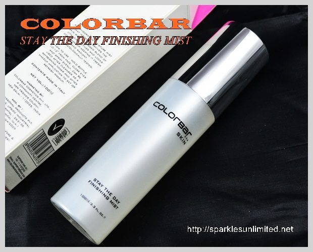 Colorbar Stay The Day Finishing Mist Review,Colorbar Stay The Day Finishing Mist , Face Mist, Colorbar India, Colorbar Skin Care