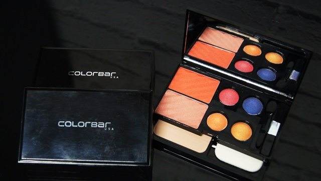 "GET THE LOOK MAKE UP KIT     This season does not resist yourself in looking stunning, ravishing and bewitching.  Get ready in the hottest shades of the season with  ""Get-The-Look Makeup Kit"". This easy to use and handy kit gives you convenience of creating a range of looks anywhere and anytime. It  comes with 2 high payoff blushers, perfect match pressed powder and 4 baked eye shadows. Highlight, contour and accentuate your eyes and cheeks with these high payoff, multipigmented baked eye shadows and blusher and finish off with a face powder for a flawless finish. To give ease of application on the go, kit also contains high quality sponge and brushes .   Priced at INR 1750/- Get-The-Look Makeup Kit is a perfect gift this season.It is available in three varying color families- Alluring Beauty (inspired by ethereal shades), Dripping Innocence (inspired by earth and sky tones) and Admiring Gaze (inspired by vibrant colors). The kit comes in a stylish black case with a mirror on its closing flap so you can look at your work of art anytime. All pigments are coated with emollients and infused with long-wearing ingredients to give an all day fresh look. The long-lasting face powder creates a smooth, flawless finish from a.m. to late hours.   About Colorbar: Colorbar is a leading color cosmetics and make-up brand that adds glamour to women's avant garde beauty needs. Its exclusive, high-end formulations and product lines are manufactured at prestigious manufacturing facilities across Greece, Italy, France and Germany. Colorbar formulations are benchmarked against the leading prestige brands of the world. Colorbar considers every woman as unique - with a distinct personality and style, who uses an exclusive selection of colors to express her individuality. This inspiration lies at the heart of Colorbar's interesting and contemporary color palette."