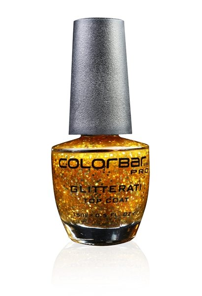 Golden Sparkle Nail Paint, Colorbar Glitterati, Colorbar India  Price INR 400