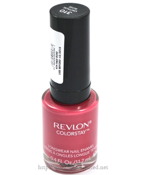 Revlon Colorstay Long Wear Nail Enamel 310 VINTAGE ROSE,Revlon Colorstay Long Wear Nail Enamel 310 VINTAGE ROSE Review,Revlon Colorstay Long Wear Nail Enamel 310 VINTAGE ROSE Swatches,Revlon Colorstay Long Wear Nail Enamel ,Revlon Colorstay Long Wear Nail Enamel Review, Revlon Colorstay Long Wear Nail Enamel Swatches, Revlon India, Revlon Cosmetics India, Revlon Colorstay