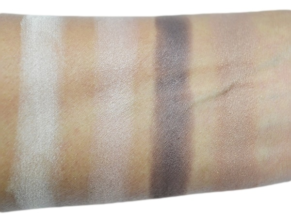 Rimmel Glam Eyes Quad Eye Shadow 002 Smokey Brun