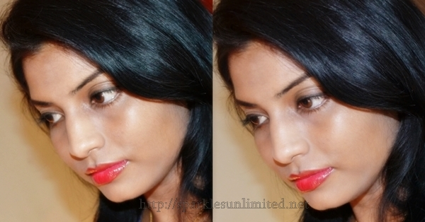 Revlon Colorburst Lipgloss FIRE, Revlon Colorburst Lipgloss FIRE Review,Revlon Colorburst Lipgloss FIRE Swatches,Revlon Colorburst Lipgloss ,Revlon Colorburst Lipgloss Review,Revlon Colorburst Lipgloss Swatches, Revlon India, revlon COsmetics, Red Lips