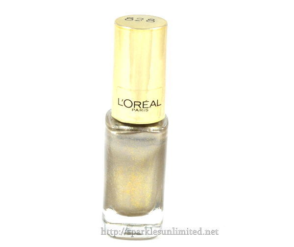 L'Oreal Paris Color Riche Le Vernis 828 L'Or Argent,L'Oreal Paris Color Riche Le Vernis 828 L'Or Argent Review,L'Oreal Paris Color Riche Le Vernis 828 L'Or Argent swatches,L'Oreal Paris Color Riche Le Vernis ,L'Oreal Paris Color Riche Le Vernis Review,L'Oreal Paris Color Riche Le Vernis Swatches, L'Oreal Paris Color Riche Le Vernis Cannes 2013 Collection, L'Oreal Paris, L'Oreal Paris India