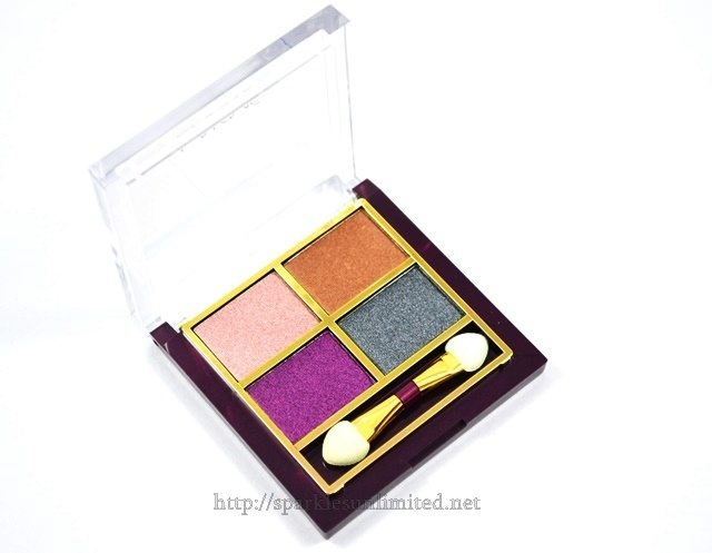 Lakme Eye Colour Quartet SILK ROUTE,Lakme Eye Colour Quartet SILK ROUTE Review,Lakme Eye Colour Quartet SILK ROUTE Swatches, Lakme India, Lakme