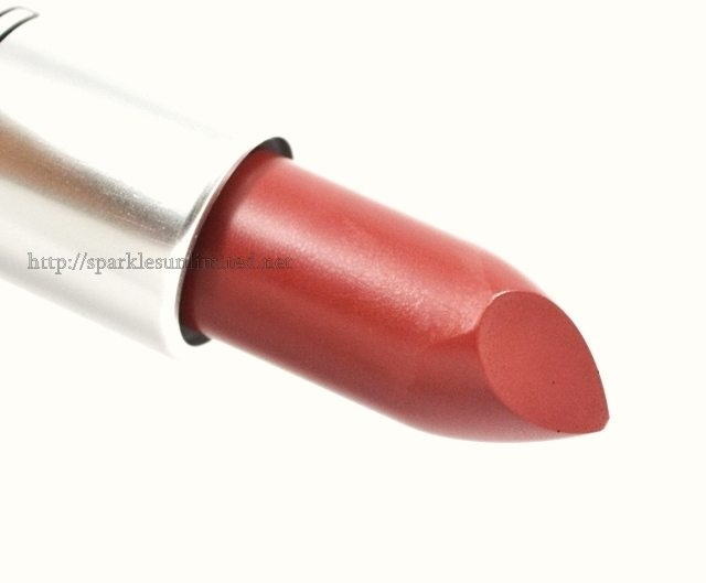 MAC Satin Lipstick RETRO,MAC Satin Lipstick RETRO Review,MAC Satin Lipstick RETRO Swatches, MAC Satin Lipstick , MAC Lipstick Review, MAC Lipstick Swatches, MAC Cosmetics, MAC Cosmetics India