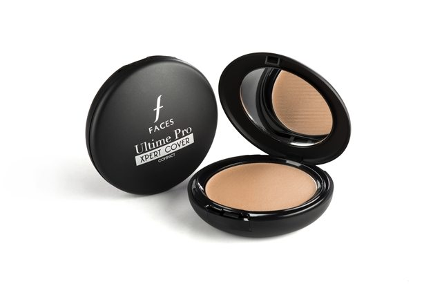FACES ULTIME PRO X- PERT COVER 3 IN 1 COMPACT FOUNDATION, FACES ULTIME PRO X- PERT COVER 3 IN 1 COMPACT FOUNDATION Swatches, Faces Cosmetics India1