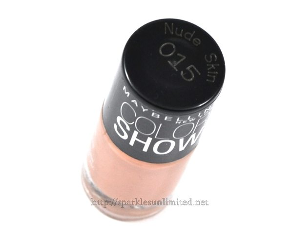 Maybelline Colour Show Nail Enamel 015 NUDE SKIN,Maybelline Colour Show Nail Enamel 015 NUDE SKIN Review,Maybelline Colour Show Nail Enamel 015 NUDE SKIN Swatches,Maybelline Colour Show Nail Enamel ,Maybelline Colour Show Nail Enamel Review,Maybelline Colour Show Nail Enamel Swatches, Maybelline, Maybelline India, Maybelline New York