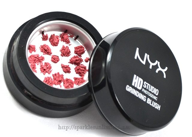NYX HD Studio Photogenic Grinding Blush Apricot,NYX HD Studio Photogenic Grinding Blush Apricot Review,NYX HD Studio Photogenic Grinding Blush Apricot Swatches,NYX HD Studio Photogenic Grinding Blush , NYX HD Studio Photogenic Grinding Blush Review,NYX HD Studio Photogenic Grinding Blush Swatches, NYX Cosmetics, NYX Cosmetics India