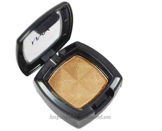 NYX Single Eye Shadow PEACH BRONZE,NYX Single Eye Shadow PEACH BRONZE Review,NYX Single Eye Shadow PEACH BRONZE Swatches,NYX Single Eye Shadow ,NYX Single Eye Shadow Review,NYX Single Eye Shadow swatches, NYX Eye Shadow, NYX Cosmetics, NYX Cosmetics India