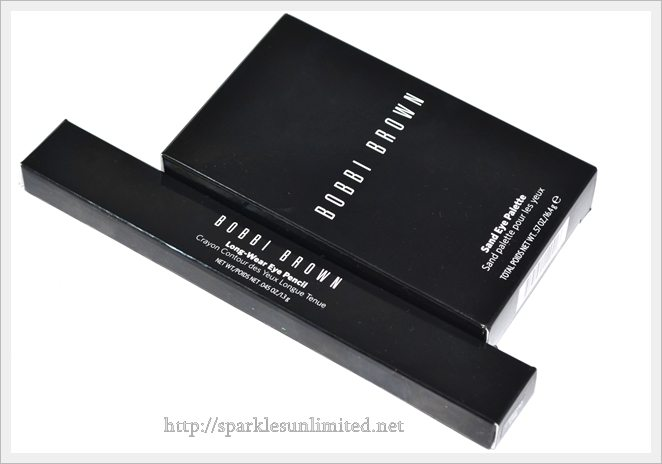Bobbi Brown Surf & Sand Collection, Bobbi Brown Sand Eye Shadow Palette, Bobbi Brown Long Wear Eye Pencil Black Chocolate, Bobbi Brown Cosmetics India