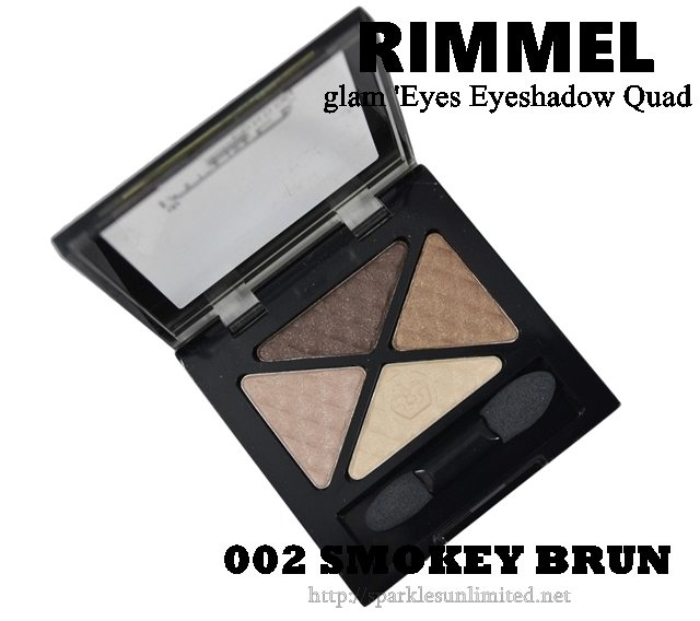 Rimmel Glam Eyes Eyeshadow Quad 002 SMOKEY BRUN, Rimmel Glam Eyes Eyeshadow Quad 002 SMOKEY BRUN Review,Rimmel Glam Eyes Eyeshadow Quad 002 SMOKEY BRUN Swatches,Rimmel Glam Eyes Eyeshadow Quad ,Rimmel Glam Eyes Eyeshadow Quad Review,Rimmel Glam Eyes Eyeshadow Quad Swatches, Rimmel London Cosmetics, Rimmel London