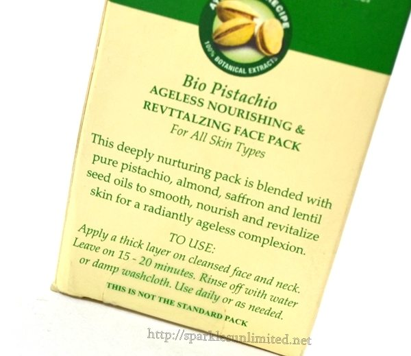 Biotique Bio Pistachio Ageless Nourishing & Revitalizing Face Pack Review,Biotique Bio Pistachio Ageless Nourishing & Revitalizing Face Pack , Biotique, Biotique Skincare, Biotique India, Skincare, Anti Ageing, Face Pack