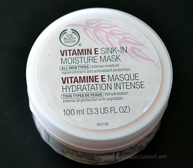 The Body Shop VITAMIN E Sink-In Moisture Mask,The Body Shop VITAMIN E Sink-In Moisture Mask Review, Face Mask, The Bosy Shop UK, Vitamin E Mask, Hydrating Face Mask, Face Mask for Dry Skin, Sleep In Mask, Sink In Mask, Skincare, Dry Skincare