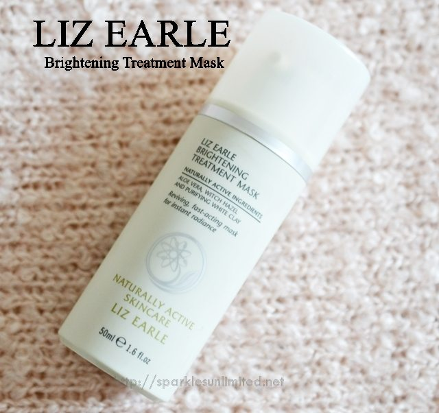 Liz Earle Brightening Treatment Mask, Liz Earle Brightening Treatment Mask Reviews,Liz Earle Uk, Brightening Face mask, Natural Face mask, Face Mask, Skincare