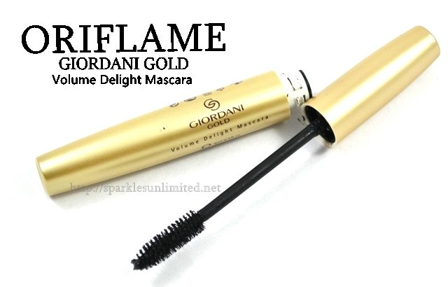 Oriflame Giordani Gold Volume Delight Mascara,Oriflame Giordani Gold Volume Delight Mascara Review,Oriflame Giordani Gold Volume Delight Mascara Swatches,Oriflame Mascara, Oriflame UK, Oriflame India, Eye Makeup, Volumizing Mascara