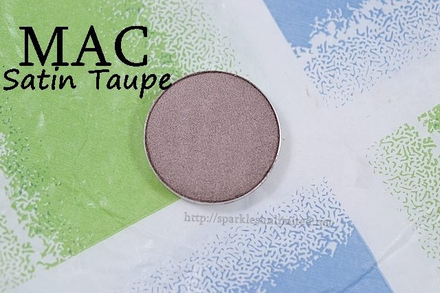 MAC Satin Taupe Eyeshadow,MAC Satin Taupe Eyeshadow Review,MAC Satin Taupe Eyeshadow Swatches, MAC Eyeshadow, Neutral Eyeshadow, MAC Neutrals, Everysay Eye Makeup, MAC Cosmetics, MAC Eyeshadow Swatches