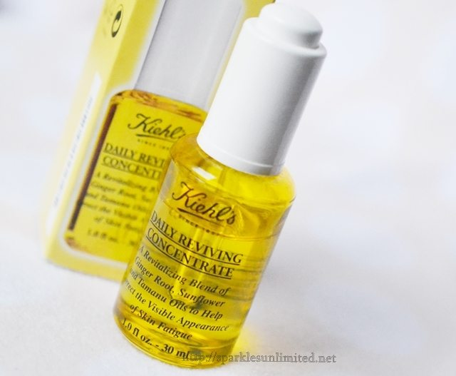Kiehl's Daily Reviving Concentrate,Kiehl's Daily Reviving Concentrate Review, Kiehl's, Facial Oil, Facial Serum, Kiehl's Skincare, Anti-Ageing Serum, Dry skincare, Skincare