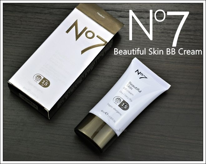 No7 Beautiful Skin BB Cream Dry/Very Dry Skin, No7 Beautiful Skin BB Cream Dry/Very Dry Skin Review, No7 Beautiful Skin BB Cream Dry/Very Dry Skin Swatches, No7 UK, BB Cream,No7 Skincare