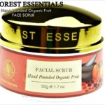 Forest Essentials Hand Pounded Organic Fruit Face Scrub,Forest Essentials Hand Pounded Organic Fruit Face Scrub Review, Forest Essentials, Oraganic Face Scrub, Skincare, Face Cleanser, Skin Polisher, Organic Skin Polisher